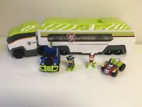 Paw Patrol Jungle Patroller Green Bus -Jungle Rescue Ryder & Chase Lot
