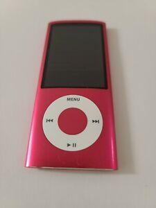 Apple iPod Nano 5th Generation 8 GB MP3 Player Pink A1320