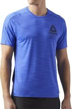 Reebok ActivChill Graphic Short Sleeve Mens Training Top - Blue