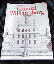 Journal of Colonial Williamsburg Summer 2014 historical colonial Americana educ.
