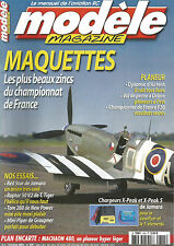 MODELE MAG N°625 PLAN : MACHAON 480 / RED STAR / RAPTOR 50 V2 / TOM 280 / PIPER
