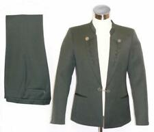 WOOL ~ GREEN Men German Trachten Hunting SPORT Dinner SUIT Jacket + Pants / M