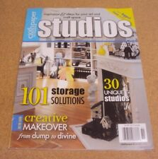 Cloth Paper Scissors Studios Magazine Spring 2010 Creative Makeover Dump Divine
