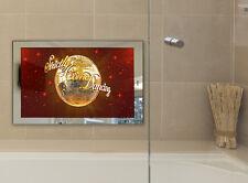 "19""SARASON 2018 LUXURY Waterproof Bathroom LED Mirror SMART TV OPTION Pre Order"