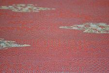 Japanese Wool/Silk Pink Flowers 811