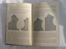 "VINTAGE 1920's WOMANS INSTITUTE ""DRESSMAKING & FINISHING"" NEEDLEWORK SEWING BOOK"