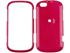 Hot Pink Snap On Hard Plastic Protector Phone Cover Case For Motorola CLIQ XT