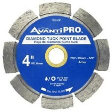 "Avanti Pro #PD040P 4"" Diamond Tuck Point Blade"