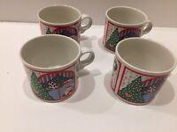 Epoch Twas The Night Before Christmas 4 Mugs