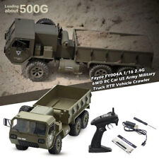 FY004A 6WD RC Car 1/16 2.4G US Army Military Truck RTR Vehicle Crawler Off-Road