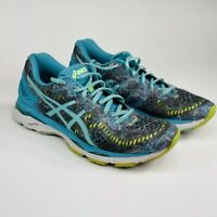 Asics Gel Kayano 23 Womens Size 10 Blue Gray Aqua Running Shoes T6A5N