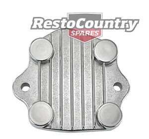 Holden 6Cyl Chrome Oil Pump Cover 149 161 179 186 202 Red Blue Black plate
