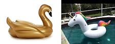 Golden Swan and Unicorn tube Pool Float-Get Bundle Discount-Aussie Floaty Stock