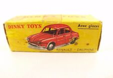 Boite seule Dinky Toys F n° 524 renault Dauphine Box only