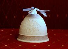 Lladro 16010 Seasonal Porcelain Bell / Ornament - Christmas 1993