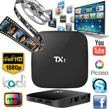 Android 4.4 Quad Core TX1 TV Box 1G+8G Free Movies S805 Media Player Streamer PC