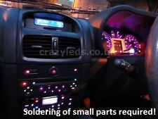Clio MK2 Full SMD LED dash conversion kit.