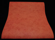 6302-78-) 12 Rollen schöne Papier Tapeten Wischtechnik dunkelrot