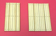 O Scale Custom Three Rail Single Lane Laser Cut Timber Grade Crossing 2 Pack