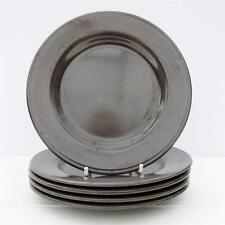 Vintage Retro 1970s Staffordshire Potteries Ironstone Side Tea Plates Set 5