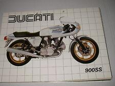 DUCATI  900  super sport  (depliant-prospekt-brochure)