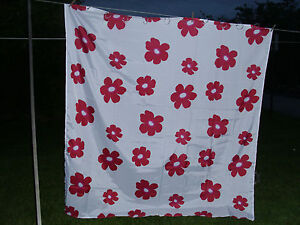 new shower curtains with large pink flowers and clear hooks set of 2