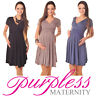 New Maternity Short Sleeve Summer Dress Pregnancy Size 8 10 12 14 16 18 8417