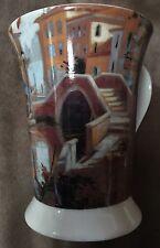 """Pimpernel Fine Porcelain Mug Venetian Scene 8099 Art in Motion 4.75"""""""
