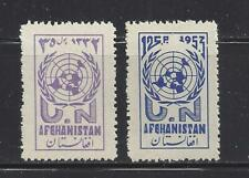 AFGHANISTAN - 415 - 416 - MNH - 1953 - UN DAY