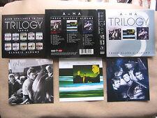 A-HA Trilogy BOX 3 CD Albums LIMITED EDITION 2005 ORIGINAL & NEW & MINT!
