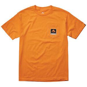 Emerica Skateboard Shirt Bronson Pocket Orange