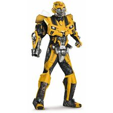 Bumblebee Costume Adult Transformers Halloween Fancy Dress