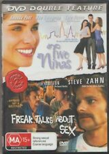 D.V.D MOVIE  DB157    TWO NINAS / FREAK TALKS ABOUT SEX   DVD DOUBLE FEATURE