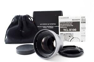 Fujifilm Fujinon Tele Conversion Teleconversion TCL-X100 in Box [Near Mint]