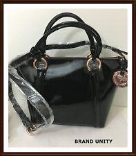 Mimco Leather SUPERNATURAL Mini TOTE Hand Bag BNWT RRP $399 Black Rosegold