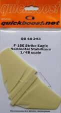 Quickboost 1/48 F-15E Strike Eagle Horizontal Stabilisers # 4829