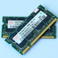 Hynix 4GO 2x2GO PC2-5300 DDR2-667 667Mhz 200pin DDR2 Laptop mémoire SODIMM RAM