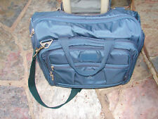 "EUC Travelpro Crew 5 Blue 16"" Rolling Carry On Wheeled Overnight Tote"