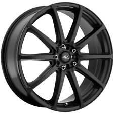 "ICW Racing 215B Banshee 18x7.5 5x105/5x4.5"" +42mm Satin Black Wheel Rim 18"" Inch"