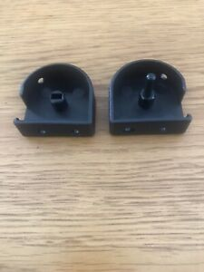 PORSCHE 944 924S LUGGAGE COVER ROLLER BLIND END CAPS - NEW