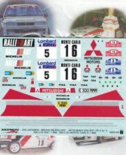 decal MITSUBISHI GALANT VR4 MC + RAC 1988 VATANEN/BERGLUND  Koco Racing DE023
