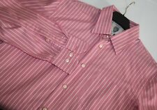 MENS 'MARC O'POLO NORMAN PINK STRIPED CASUAL STYLE SHIRT sz M MEDIUM