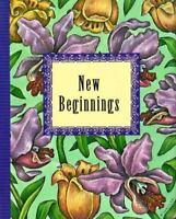 New Beginnings with Bookmark (Peter Pauper Petite Ser)