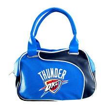 Oklahoma City Thunder NBA Women Perf-ect Bowler Bag Purse by Little Earth NEW