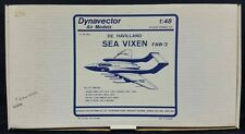 Dynavector Air Models #4803 1/48 DE HAVILLAND SEA VIXEN FAW-2 Vacuform Model Kit
