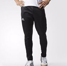 New Men's ADIDAS Messi Football Training Pants AP1280 Black Slim Soccer Sz Large