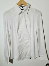 1 Nwt Movetes Women'S Shirt, Size: Small(6), Color: White (J40)