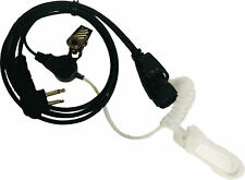 New listing 1 Wire Acoustic Tube (surveillance mic) for Motorola 2 Pin Connector
