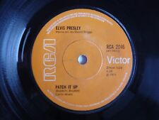 "Elvis Presley You Don't Have To Say You Love Me 1971 RCA Solid Centre 7"" Single"