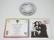 WOMACK & WOMACK/CONSCIENCE(ISLAND+4TH&BROADWAY 259 139) CD ALBUM
